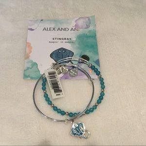 Alex and Ani Jewelry - Alex and Ani Stingray Set
